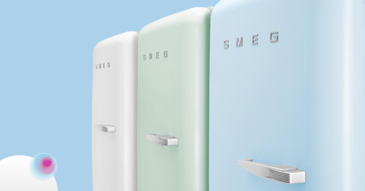 Il 2019 riconferma la sinergia tra Iride e Smeg, è online il terzo e-shop realizzato per il marchio di design italiano